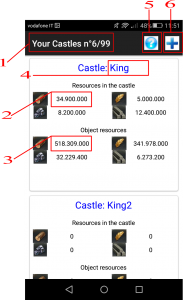 Calculator for King of Avalon -7
